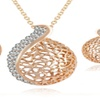 Pendant Necklace Earrings Set For Women Party Jewelry