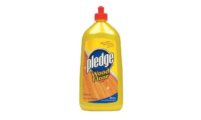 Pledge 81316 Wood Floor Cleaner Citrus 27 Oz