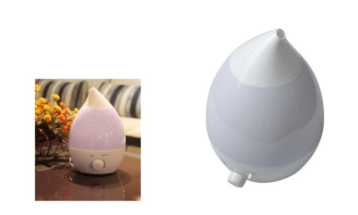 Super Ultrasonic Air Humidifier & Steam Aroma Vaporiser with LED Light