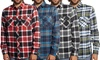 Distortion Men's Plaid Flannel Shirts (S-2XL)