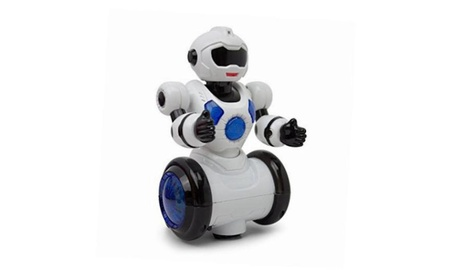 Dancing Mini Robot Bump & Go, Kids Action,360 Degree Spin, Colorful Ligh 772536a7-81af-40e9-b3b8-714cf25e4779