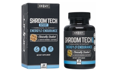 Onnit Shroom Tech Sport (28ct) Pre-Workout Supplement