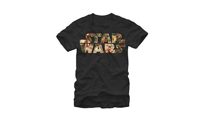 Star Wars Floral Logo Tee Shirt