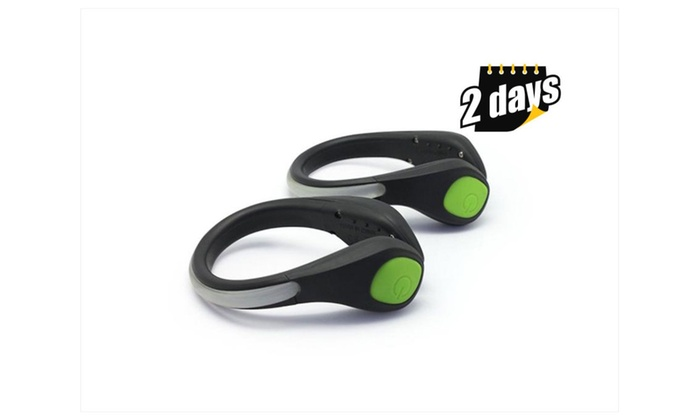 Light-weight Led Safety Clip For Cycling & Jogging 2 Pack
