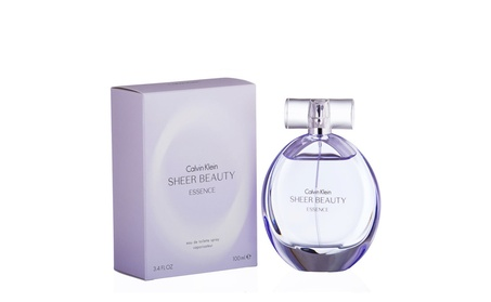 Calvin Klein Sheer Beauty Essence 3.4 oz EDT Spray For Women 58915354-dba3-40e6-a3ef-476db4f989df