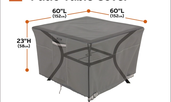 Ravenna Square Patio Table Cover