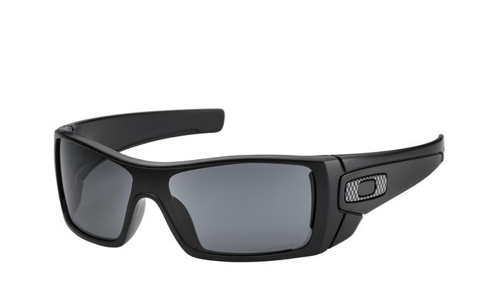 cbf1cf2456 Oakley Batwolf Sunglasses OO9101-04 Matte Black Grey Polarized Lens OO9101  04