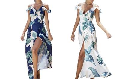Leo Rosi Women's Floral Cornelia Dress S-2X Was: $39.99 Now: $6.99.