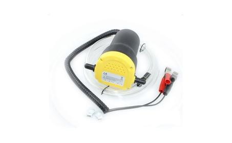 Home Use Mini Type Electric Oil Liquid Transfer Pump Black & Yellow 68c5e1c6-3870-414a-9313-4251363e611e