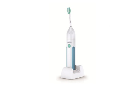 Philips Sonicare Essence Sonic Electric Rechargeable Toothbrush, White d4b35048-72ad-4b55-9455-28e8a15f6cd8