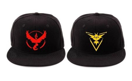 Pokemon Go Snapback Baseball Hat Team Mystic Instinct Valor ea6e4be0-7b1d-4c28-b360-292cb22b3763
