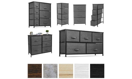 Sorbus Dresser with Drawers - Furniture Storage Organizer Unit Chest for Bedroom