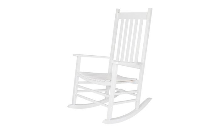 Phenomenal Shine Company 4332Wt Vermont Porch Rocker White Pabps2019 Chair Design Images Pabps2019Com
