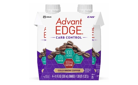 AdvantEDGE Carb Control Protein Shake Cold Brew Coffee Ready-to-Drink