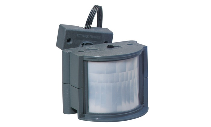 Heath Zenith HZ-5210-GR-B Motion Security Light Control, 500 Watt