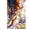The Guitarists - Music Glossy Metal Wall Art