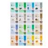 Dermal Korea Collagen Essence Full Face Mask Sheet, 16 Combo Pack