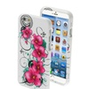 Insten Morning Petunias Pink Flower Back Rear Hard Case Iphone 6 4.7