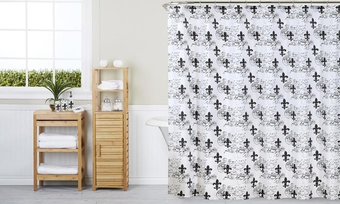 Fleur De Lis Bathroom Set (18 Piece) ...