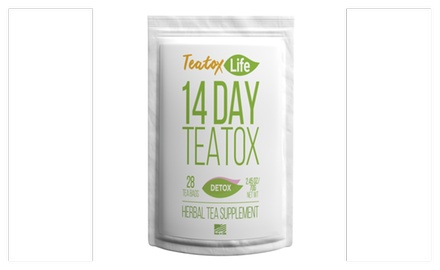 up to 55 off on detox tea skinny mint teatox groupon goods. Black Bedroom Furniture Sets. Home Design Ideas