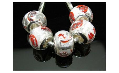 Pandora Fit Sterling Silver 925 Murano Glass Charms 9708e47e-172f-45bb-8f06-eee1f1646193