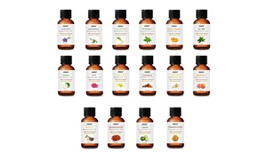 Amore Aromatherapy Therapeutic-Grade Essential Oil Gift Set (16-Pack)