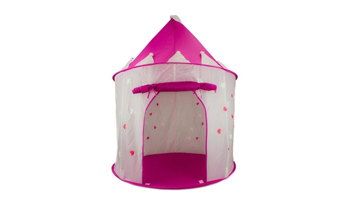 sc 1 st  Groupon & Princess Castle Play Tent with Glow in the Dark Stars | Groupon