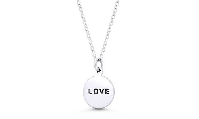 77cb8e8e3ee0a Up To 65% Off on Love Script Engraving Round D...