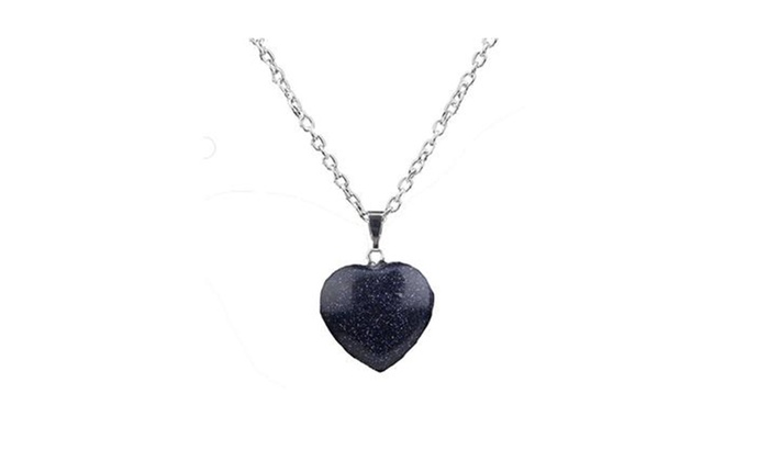 04cd252a3d1 Up To 77% Off on Crystal Blue Sodalite Stone N... | Groupon Goods
