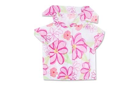 Hawaiian Dog Shirt - Pink 80b7b74b-f7ed-4128-9f13-3ad599d26b76