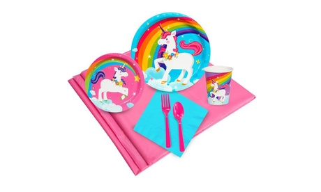 Fairytale Unicorn Party 16 Guest Party Pack 17aa4383-9d05-43fc-914b-0191ce9af3a1