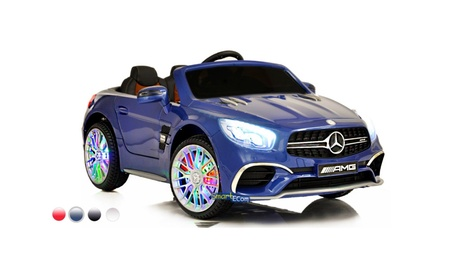 12V Mercedes AMG SL65 Ride on Electric Car For Kids w/RC Blue