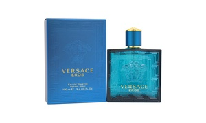 Versace Eros Eau de Toilette for Men. Multiple Sizes Available.