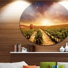 Vineyard with Stormy Sunset' Extra Large Wall Art Landscape