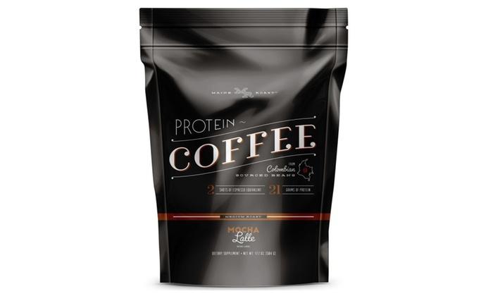 protein coffee maine roast