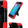 Insten Wave Symbiosis Hard Hybrid Case Stand For Galaxy J1 Black Red