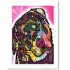 Dean Russo 'Rottie' Paper Art