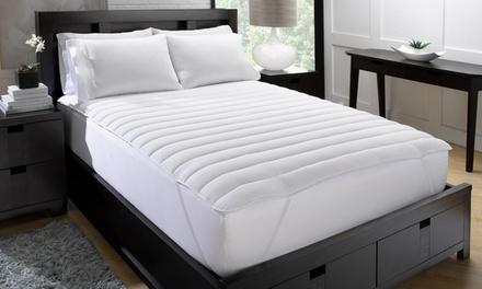 Exquisite Hotel Big & Soft Fiber Bed Mattress Pad