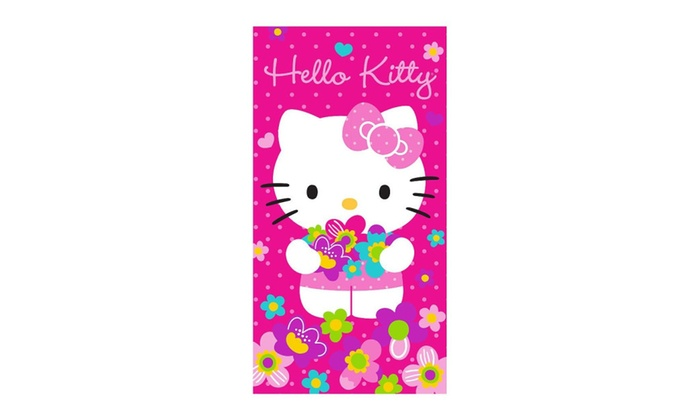Hello Kitty Bunches of Flowers Kids Slumber bag