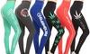 Style Clad Women's Casual Sport Screen Printed Leggings
