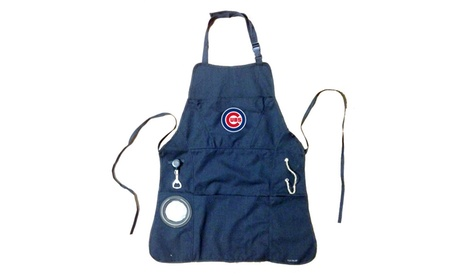 Team Sports America MLB 5-Pocket Grilling Aprons with Bottle Opener