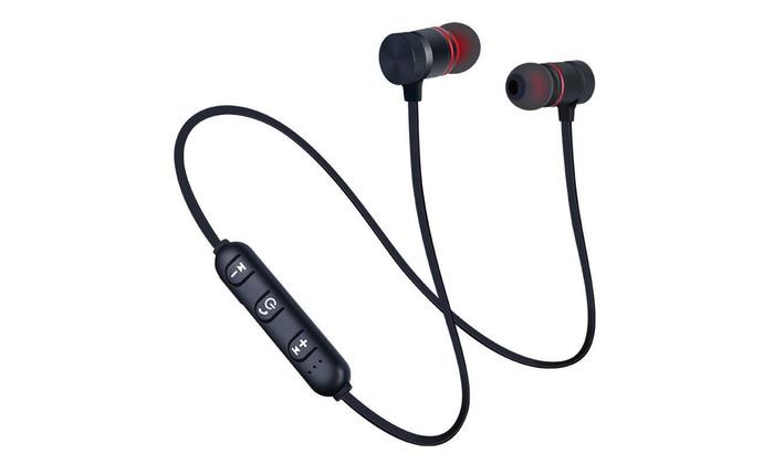 d99a3771588 Sweatproof Bluetooth Earbuds Sports Wireless Headphones in Ear Headsets