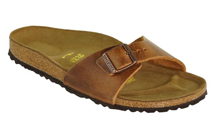 BIRKENSTOCK Madrid Oiled Leather Sandals BIRKENSTOCK Madrid Oiled Leather  Sandals ... 609113568