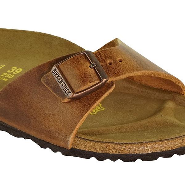 BIRKENSTOCK Madrid Oiled Leather Sandals