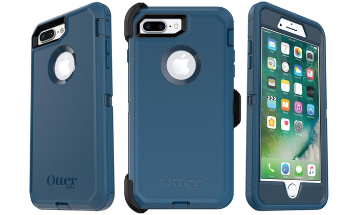 timeless design b6b26 91e6a OtterBox Defender Series Case and Holster for iPhone 8 Plus and 7 Plus