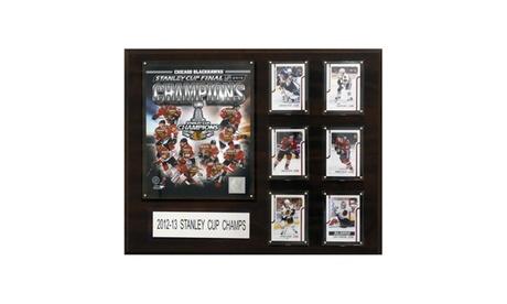 "NHL 16""x20"" Chicago Blackhawks 2012-2013 Stanley Cup Champions Plaque bcff669c-0274-460b-86ac-a4c89d0f3a43"
