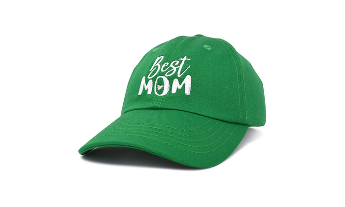 99f73cd4a6fd6 DALIX Best Mom Baseball Cap Womens Dad Hats Adjustable Mothers Day Hat