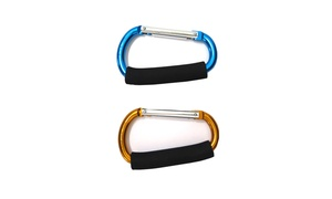 Multi Purpose XL Durable Mommy Hooks Stroller Accessory
