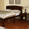 Masey Full Bed - Dark Walnut