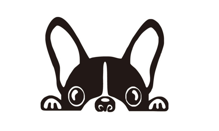 Funny French Bulldog Light Switch Vinyl Wall Decal  sc 1 st  Groupon & Up To 96% Off on Funny French Bulldog Light Sw... | Groupon Goods